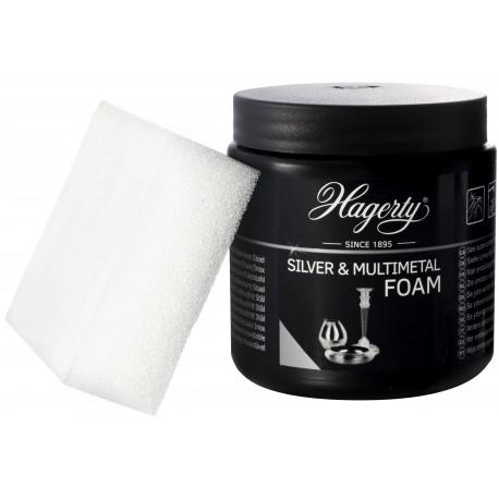 Espuma limpa prata, casquinhas, aço inóxidável e liga de estanho [Silver Foam]